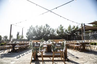 Lovely wedding set up in the beautiful island of Paphos